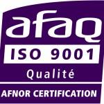 Certification ISO 9001 Natarom - Diffuseur de parfum