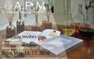 APM au salon Beautyworld Middle East 2016