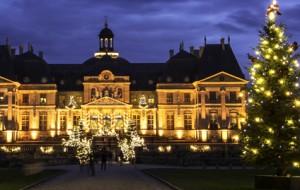Le Château de Vaux le Vicomte fête Noël avec Natarom