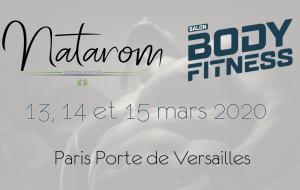 Natarom présent au Salon Body Fitness 2020