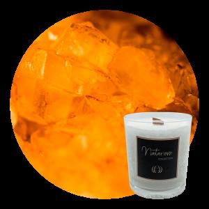 Bougie Parfumée 100g - Ambre Divin
