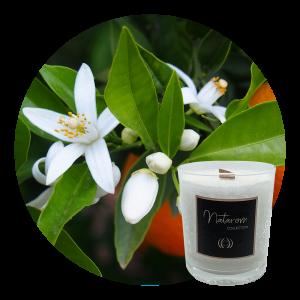 Bougie Parfumée 100g - Fleur d'Oranger