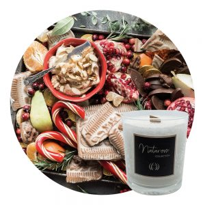 Bougie Parfumée 100g - Voyage Gourmand