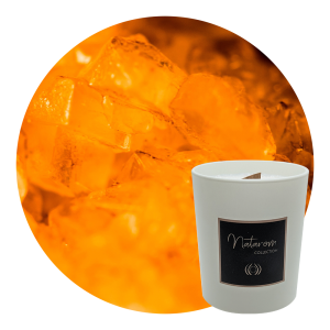 Bougie Parfumée Mat 150g - Ambre Divin